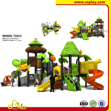 CE approved Children jungle themed playground playset