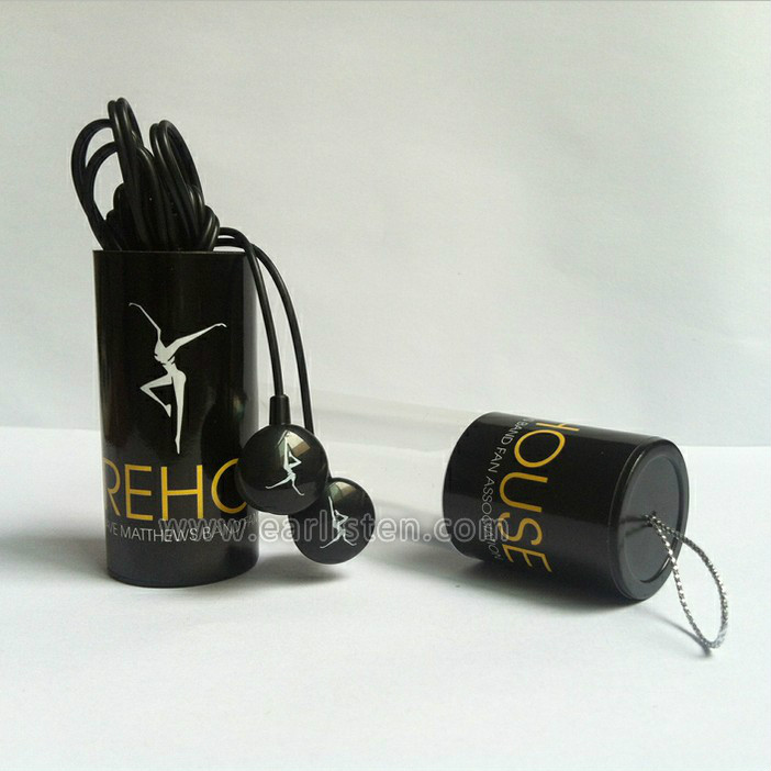 hot sale custom logo promtional in-ear earphone with packing