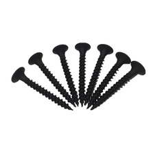 Customized Black Galvanized iron Tip Round Drywall Self Tapping Screw