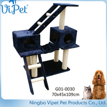 Customized Variety Designs Luxury Pet Supply Cat Tree Made In China