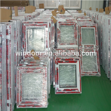 Asia hot sale PVC windows produced in Windoor Manufactory Malaysia/Singapore heat insulation windows