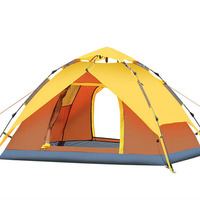 Various Colors Double Layers Outdoor Family Camping Tent