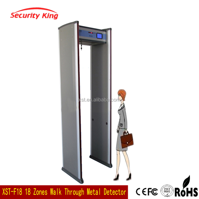 security equipment alarm Systems super scanner gate Walk-through Metal Detector XST-F18