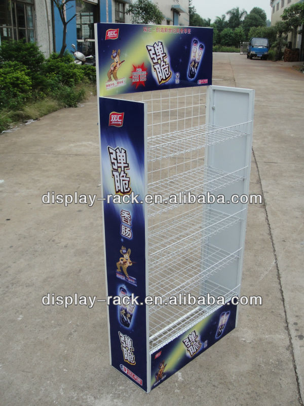 metal food exhibition stand HSX-DR0193