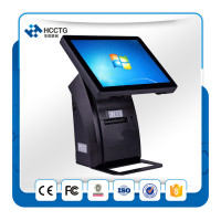 Restaurant Pos Software 15 Inch Touch Screen All In One Pos Terminal HZQ A1088