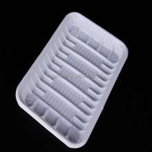 Customized PP blister food packaging plastic tray for frozen meat seafood