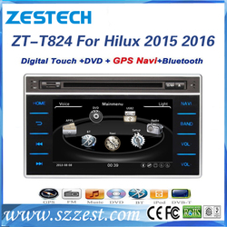 HD touch screen car dvd for toyota hilux 2016 dvd with gps radio audi car multimedia
