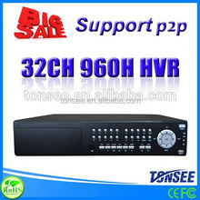 32 channel DVR (HVR) ,h 264 dvr software download,Sony Chip Hd Cctv 12v Surveillance Camera