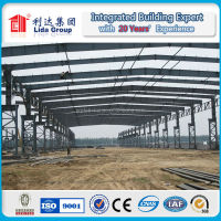 Light removable steel structure warehouse