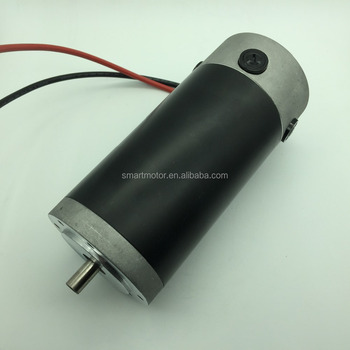 O.D90mm heavy duty big power dc brushed motor, continuously running, long life, over 500w