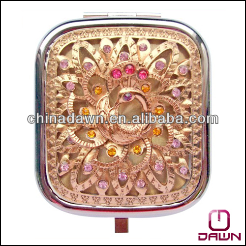 new mirror compact flower CD-MZ266