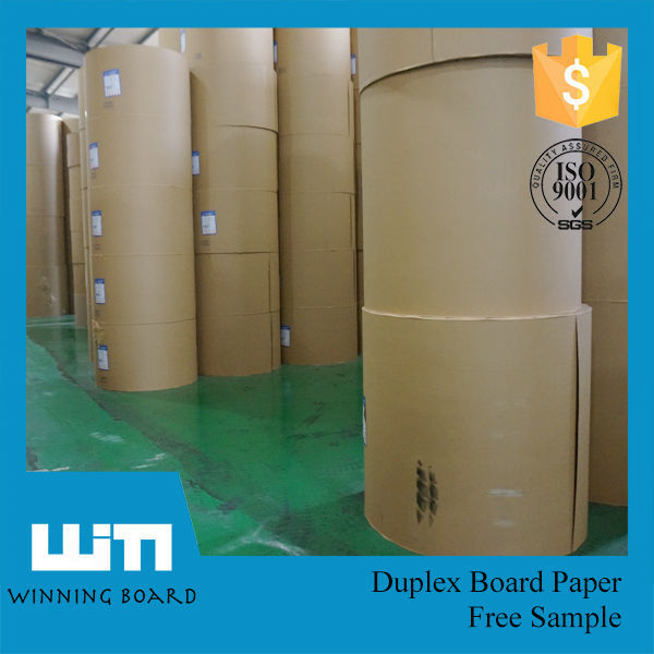 Recycled Pulp Style and Uncoated Coating Hard Stiff Paper Board in high quality