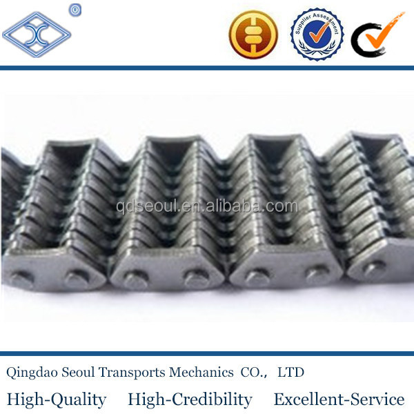 ISO ANSI standard SC6 steel transmission chain short pitch 19.05mm flank side guide silent chain