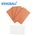 China Factory Price Cooling High Thermal Conductivity Soft Silicone Round Silica Gel Thermal Pad