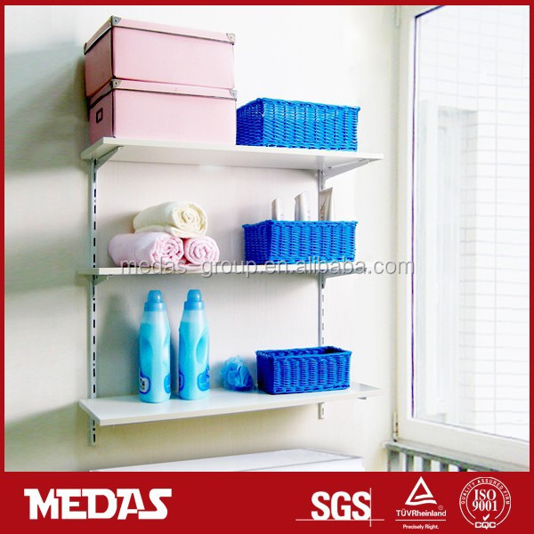 wall mounted floating wooden shelves kits