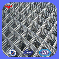 Anping low carbon iron material concrete reinforcing wire mesh price(ISO9001 factory)