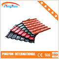 plastic cover roof sheet/economic durable/asa synthetic resin tile