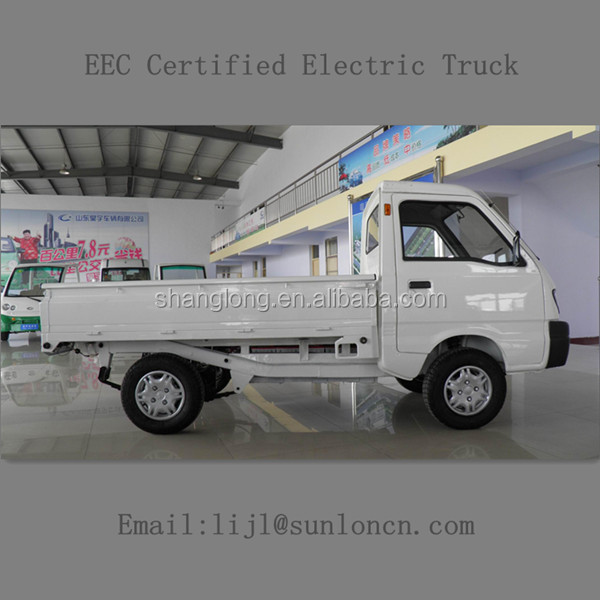 EEC Certified Small Electric Truck