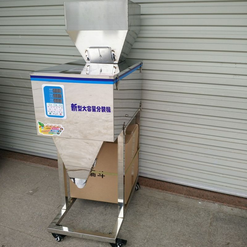 semi automatic chocolate/coffee powder filling machine