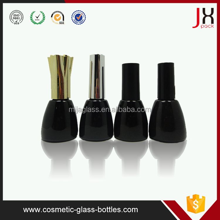 Wholesale 12ml 15ml 18ml square empty nail polish bottle with brush