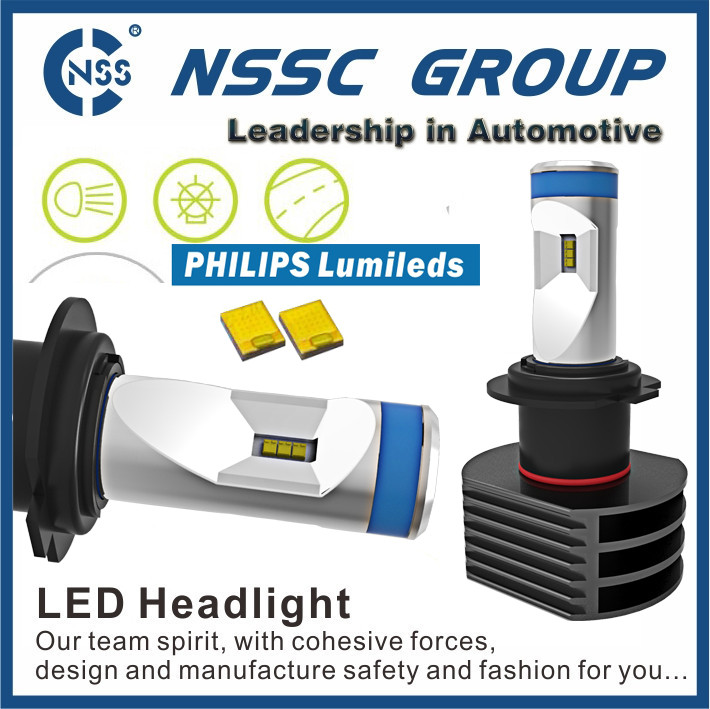 Lumileds LED HID 50W / 5S LED Headlight / Auto H4 9004 Conversion Kit