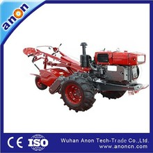 ANON competitive price 7hp 10hp 12 hp 15hp 18hp diesel engine multi purpose tractors