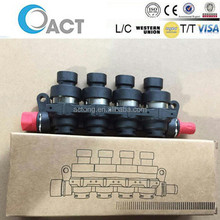 LPG CNG AUTO gas ACT L05 injector rail 2ohm/3ohm for 3/4/6/8cylinder cars