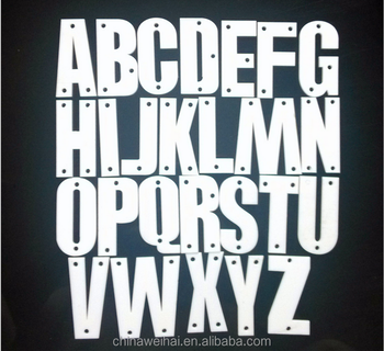 acrylic mirror wall letters