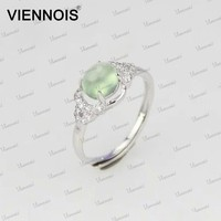 Oval gemstone 925 sterling silver rings,natural gemstone silver jewelry