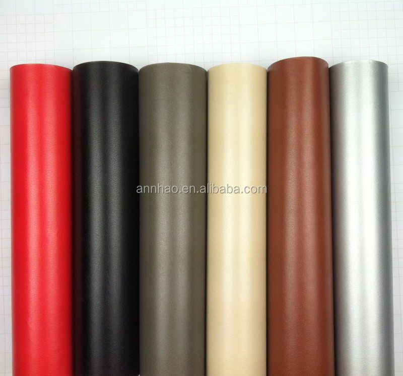 Annhao 1.52*28m PVC Material Car Dashboard Sticker Leather Vinyl for Car Wrap