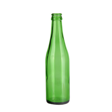 China manufacturer reusable portable empty 350ml glass bottle beer