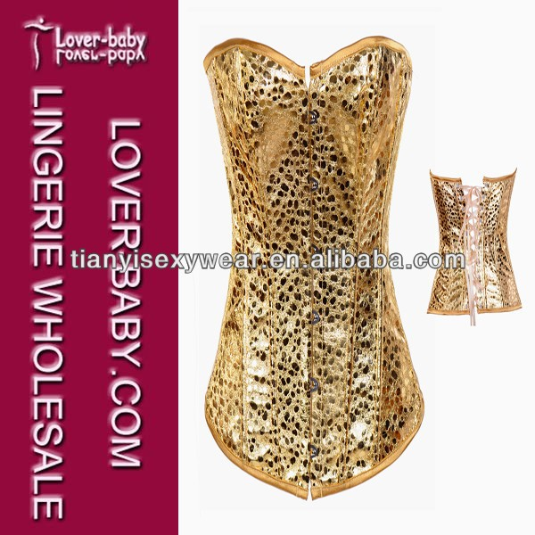 Desirable Newest Sweetheart Corset Bustier Top Yellow