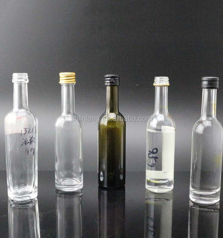 Shanghai Linlang wholesale OEM small wine glass bottle