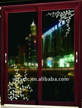 Top hung glass sliding door buy top hung glass sliding for Top hung sliding glass doors