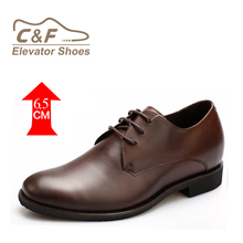 CF Brown Formal Shoes for Men Designer Brand Dress Shoes Patent Mens Dress Shoes Heel Height