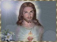 PET material 3d lenticular jesus christ images ,pictures of jesus christ