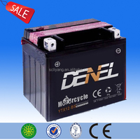 China Factory Charging Motorcycle Battery 12v 12ah deep cycle battery moto parts electric tricycle battery