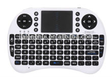 New 2.4GHz PC Gaming multimedia remote control Keyboard with Touchpad