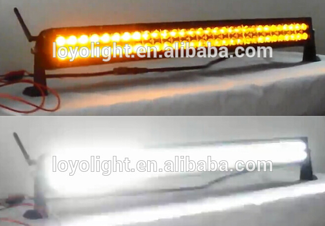 50 inch 288W curved / straight waterproof led grow light bar for jeep cars