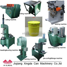 10-25L Paint /Lubricant /Engine Oil Tin bucket production line
