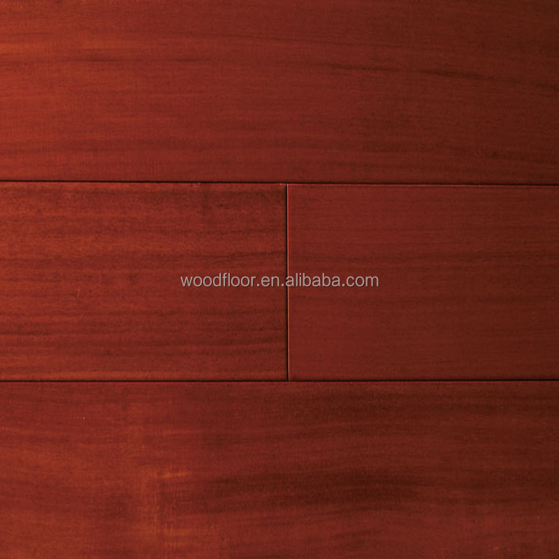 Red wood flooring Sandalwood Solid wooden flooring