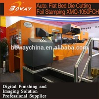 Programmable Hologram foil printer Auto flat bed die cutting machine