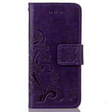 For iphone 5SE case factory wholesale high qulity Premium leather wallet flip cover case for iphone 5 5s 5 SE