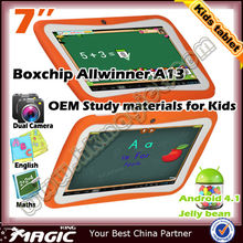 cheap 4GB storage education tablet pc for kids