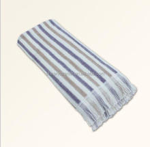 Brand cotton Bath Towels with Stripe,bath towel fabric roll,walmart bath sets