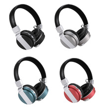 Wholesale stereo wireless headphone bluetooths sport mobile phone headset blue tooth hands free earphone head set