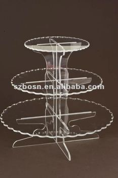 Acrylic Cupcake Stand/ Acrylic Cake Holder/ Acrylic Food Display