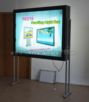 Indoor or Outdoor poster scrolling Outdoor Display 6 Picture Scrolling Sign Light Box With Attractive Appearance
