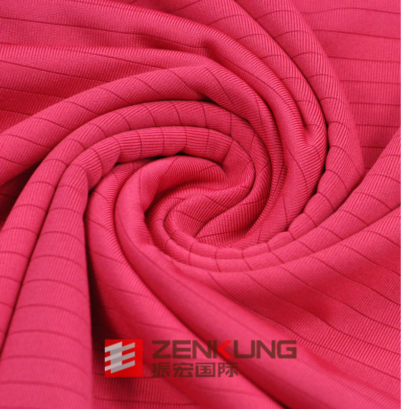 95% polyester 5% elastane fabric for sportswear