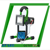 rechargeable energy saving lamp outdoor rechargeable led flood light projector